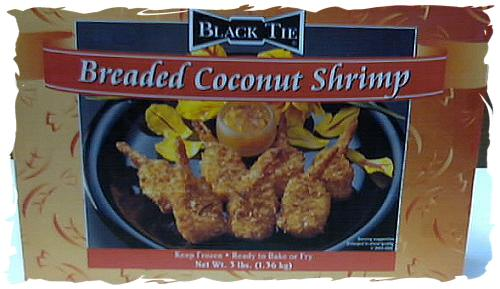 Breaded Coconut Shrimp
