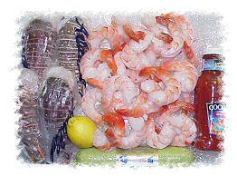 Seafood gift packages negle Images